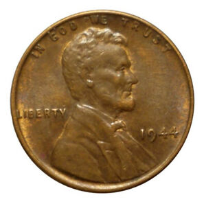 Details about Rare 1944 Wheat Penny Super Clean No Mint Mark