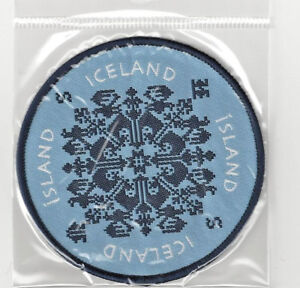 Country of Iceland Souvenir Puffin Patch