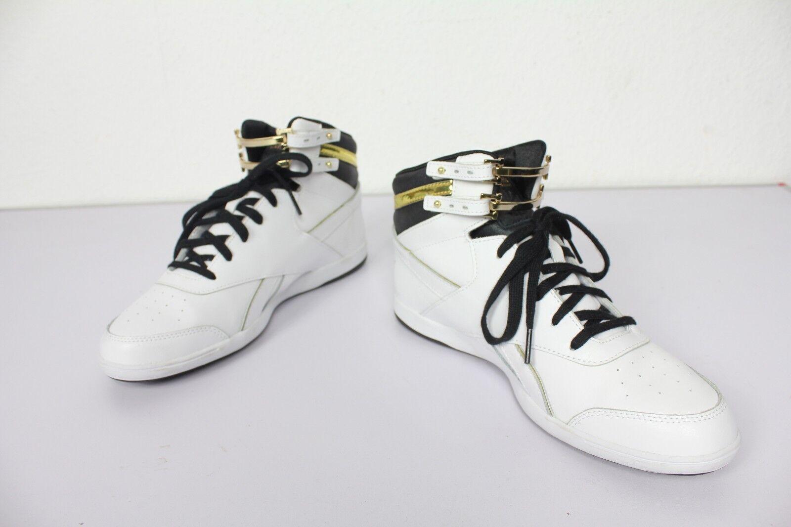 Reebok Da Donna High-Top    da ginnastica Hard tessile Bianco: eu:40-uk:6,5 - come nuovo