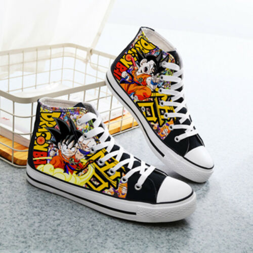 Hot Anime Dragon Ball Star sign Canvas Casual Sneakers Shoes Unisex cosplay: