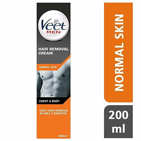 Veet For Men Hair Removal Gel Creme 200ml 3 For Sale Online Ebay