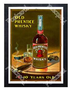 Historic-Old-Prentice-Whiskey-1900-Advertising-Postcard