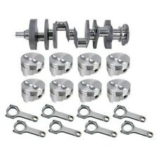 Forged Sb Chevy Rotating Assembly 421 Flat Top 400 Mains 6 Rod 040 Os
