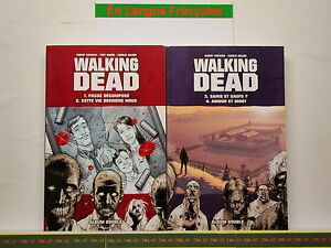 Details Sur Livre Bd Walking Dead Volumes 1 A 4 2 X Album Double Contenant 2 Episodes