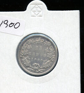 1900-Canada-25-Cents-VG-AB57