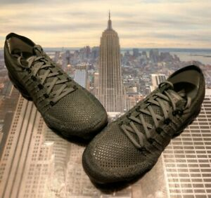 sale retailer cbc25 6ad5e Details about Nike Womens Air VaporMax Flyknit Midnight Fog/Black Size 10  849557 009 New