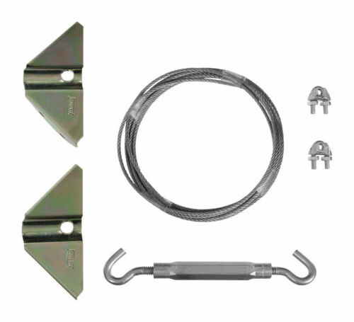 National Hardware  Anti-Sag Gate Kit  Steel  Up to 7-1//2 in L