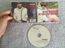 TAYLOR SWIFT WE ARE NEVER GETTING BACK TOGETHER USA 1 TRK WALMART CD (PROMO?)