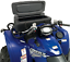Moose Black 2 Tier Front ATV Lockable Latch Cargo Luggage Rack Storage Box