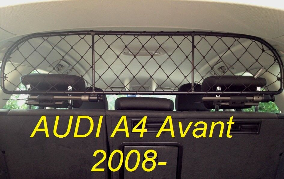 Dog Guard, Pet Barrier Net and Screen for AUDI A4 Avant 2008- for baggage & pets