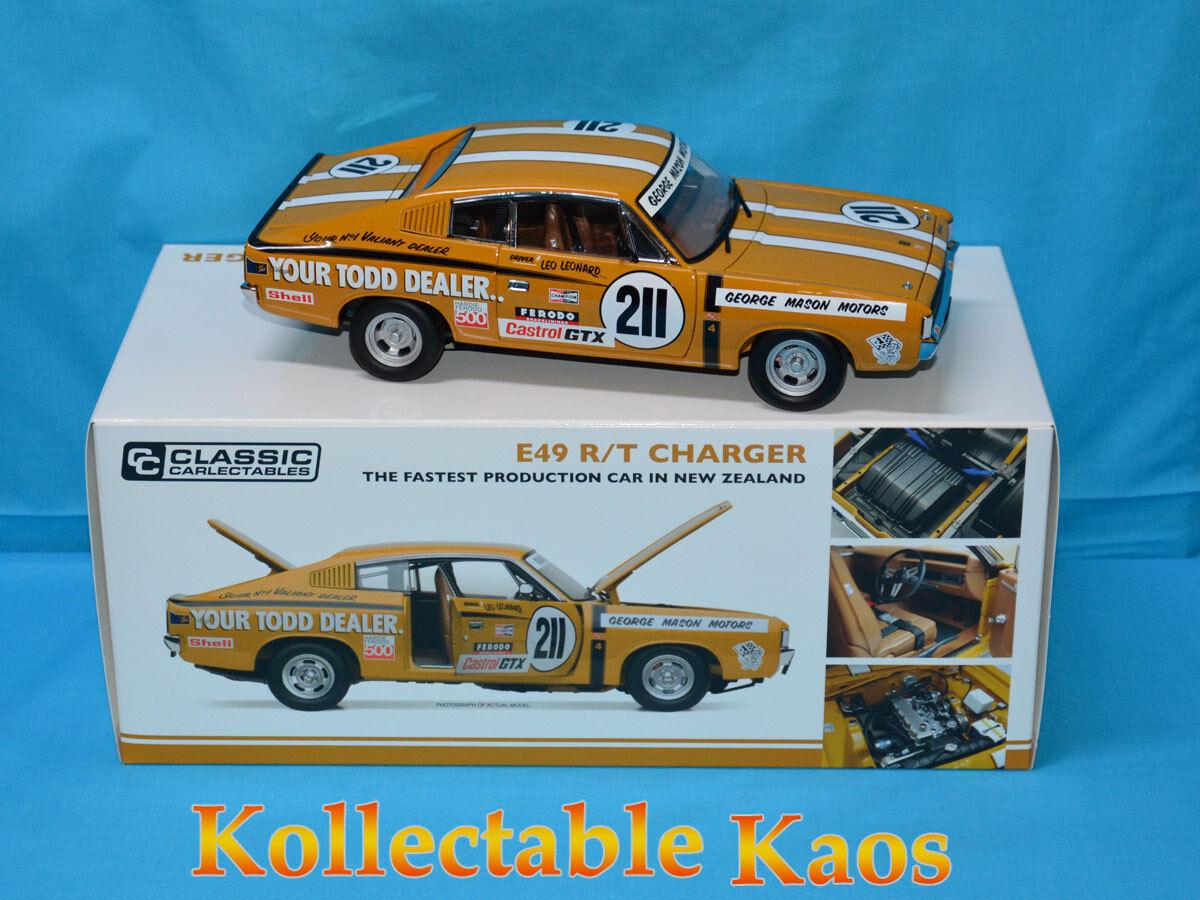 presentando tutte le ultime tendenze della moda 1 18 classeic - 1972 73 Castrol Castrol Castrol GTX Series - E49 Charger - Leo Leonard  miglior reputazione