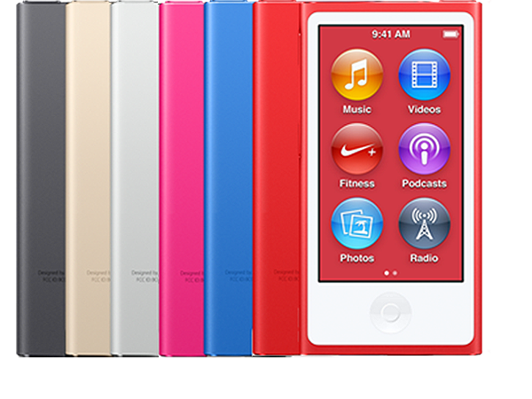 Free Ship All Colors Used Tested Apple iPod Nano 7th Generation 16GB 8th