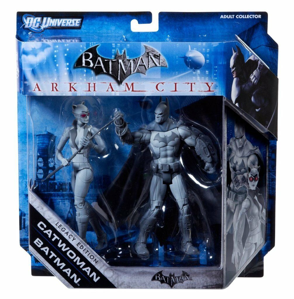 DC Batman Arkham Stadt Legacy Editon Collector Wirkung Figures Masse of 6