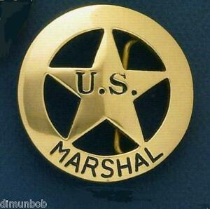 U-S-Marshall-Badge-Belt-Buckle-Brass