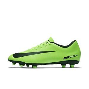 Nike Mercurial Vortex III FG Men s Soccer Cleats 831969 303 Electric ... 0db654cdb5e81