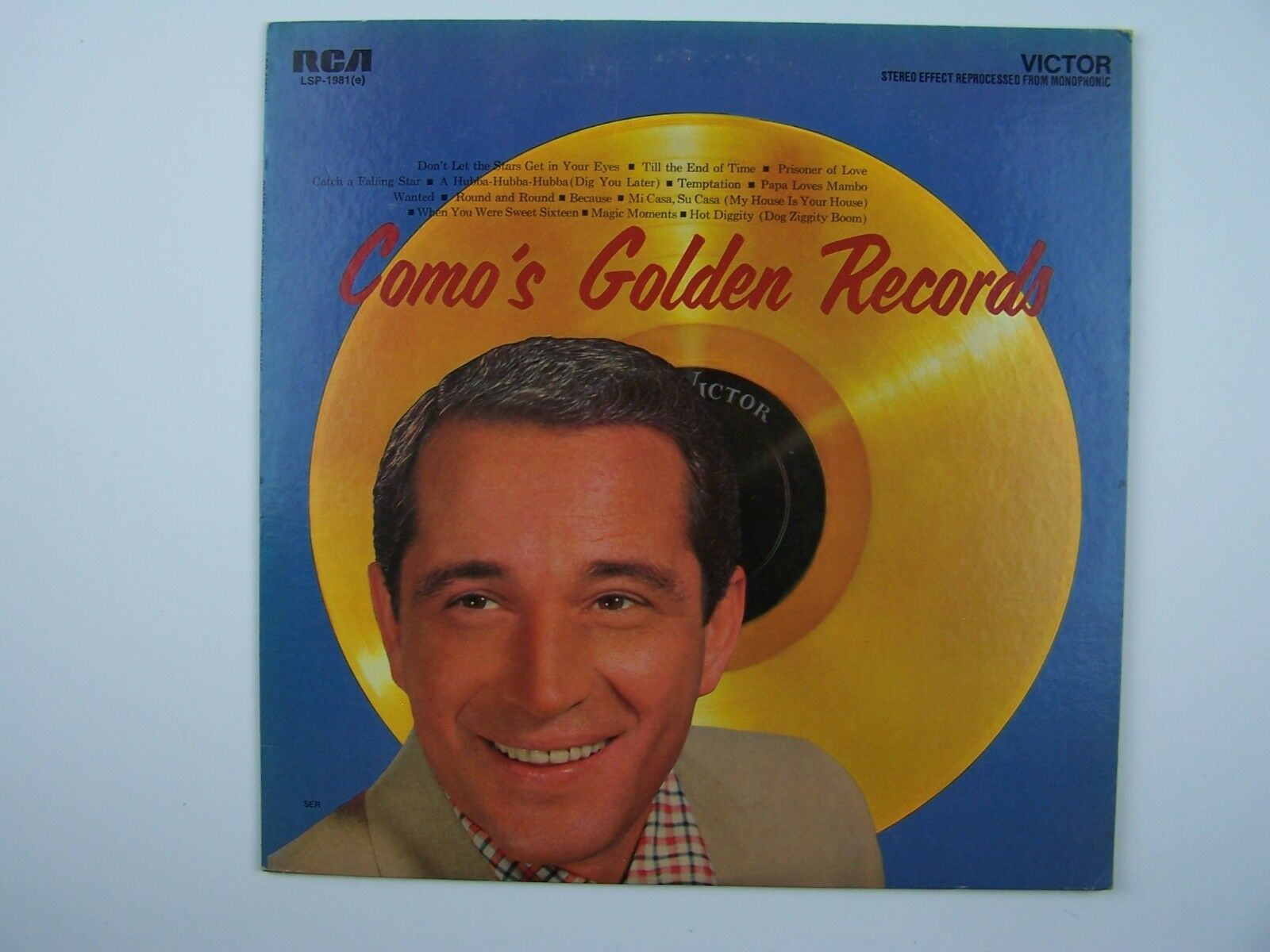 Perry Como - Como's Golden Records Vinyl LP Record Albu