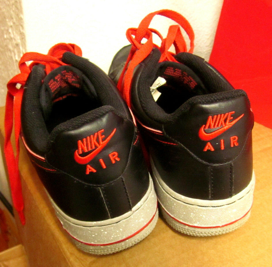 NIKE low-cut AIR FORCE 1 Challenge Taille 9.5 tennis chaussures low-cut NIKE AF1 color gradient 2012 7d4a54