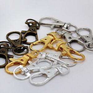 Bag-Key-Ring-Keyring-Swivel-Trigger-Clips-Lobster-Clasp-Hook-for-Keychain-Making