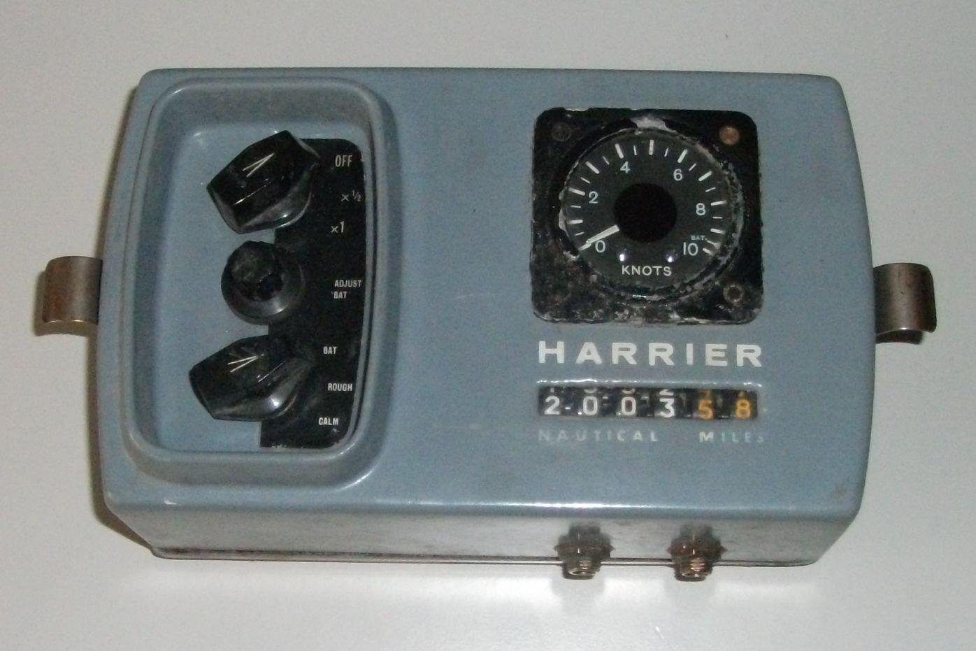 B&G Brookes & Gatehouse Harrier  b & g knots logge speed log