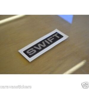 SWIFT RESIN DOMED Caravan Dent Cover Sticker Decal Graphic - Graphics for caravanscaravan stickers ebay