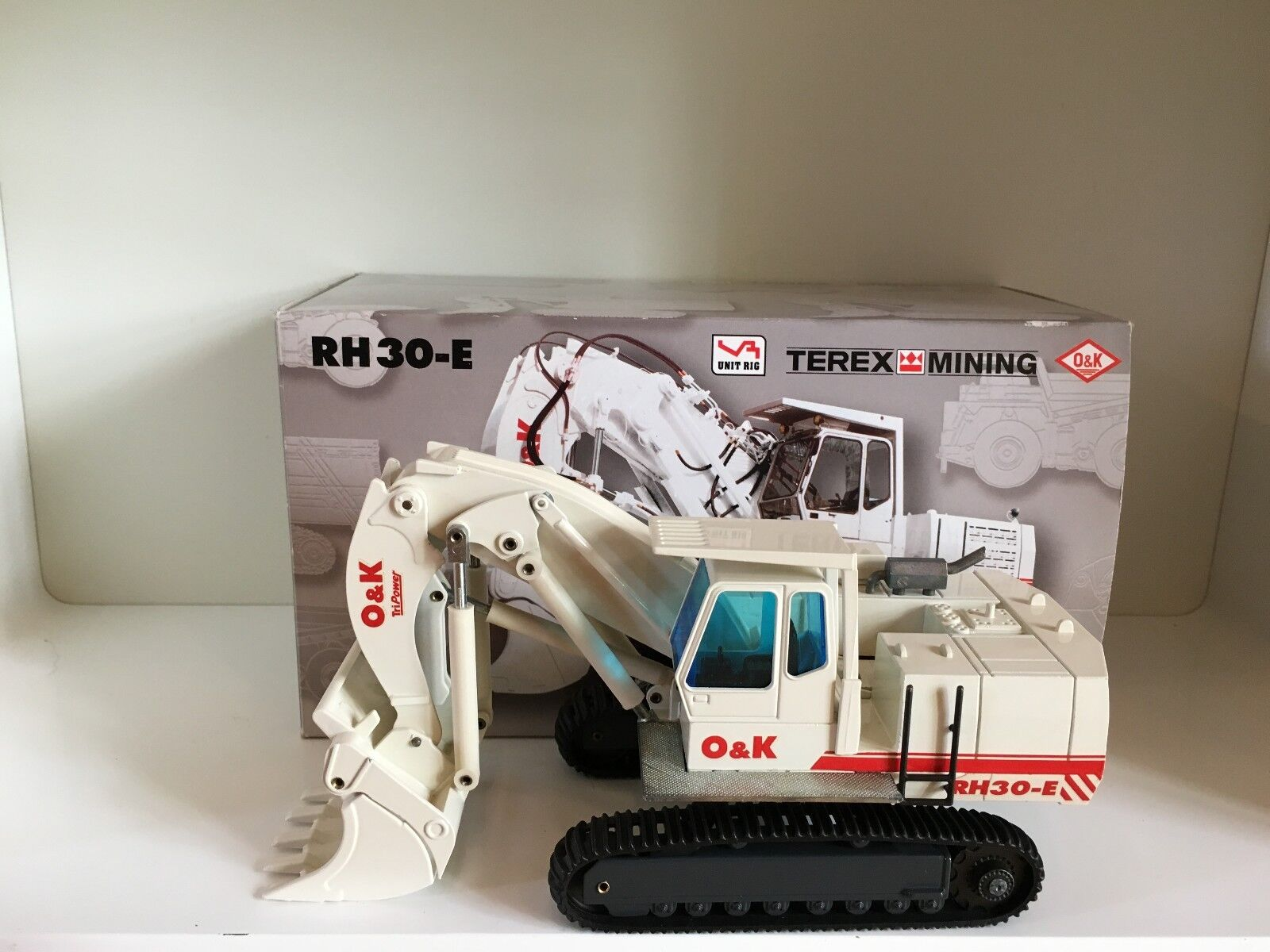 O&k Terex RH 30 E Chaînes Excavateurs de NZG 456 in 1 50 Neuf Dans Sa Boîte