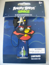 Angry Birds Space Lanyard Key Chain Soft Necklace 92543