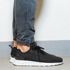 Détails sur Adidas originals zx flux adv asymétrique noir textile hommes baskets uk 11 afficher le titre d'origine