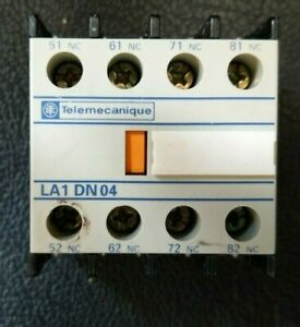 Telemecanique-LA1-DN04-Aux-Contact-Block