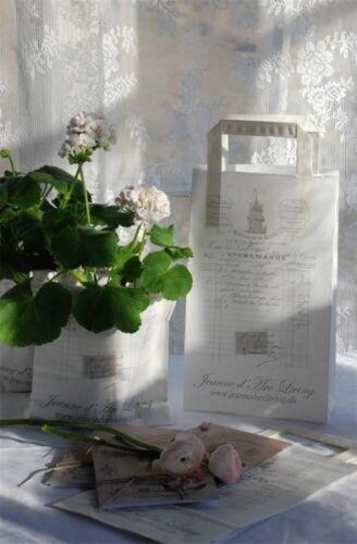 Jeanne d /'arc Living*6 kleine Papiertüten*French receipt *französischen Rechnung