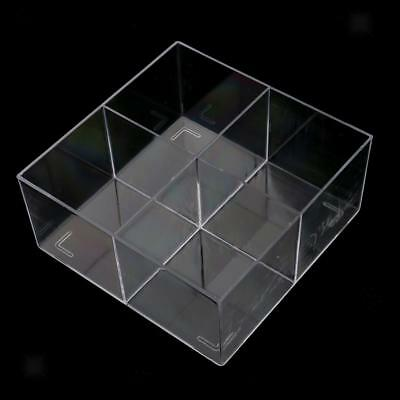 Clear Acrylic Makeup Case Cosmetic Organizer Drawer Storage Cabinet Box