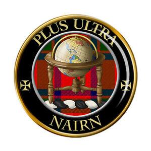 Nairn-Clan-Ecossais-Broche-Badge