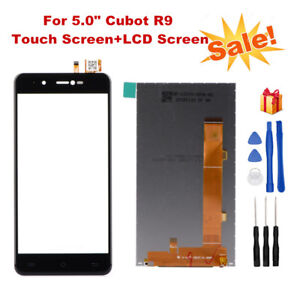 "For 5.0"" Cubot R9 LCD Display and Touch Screen Digitizer Replacement with Tools"