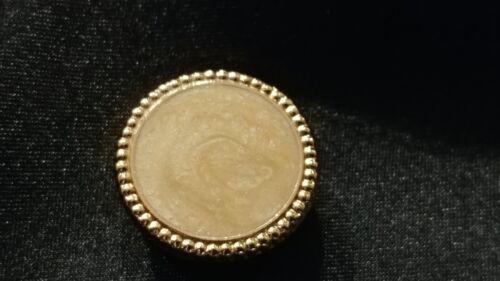 New Elegant Ivory Gold Button Cover Chinese Banded Mandarin Tuxedo Nehru TUXXMAN
