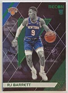 2019-20 Recon RJ Barrett Green Rookie Refractor SP Parallel RC #290 Knicks Duke