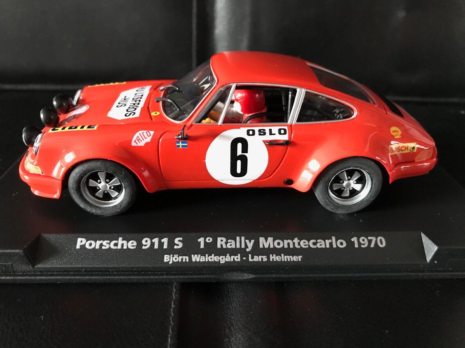 88134 Fliegen Car Model A-931   Porsche 911 S    Rallye Montecarlo 1970   NEU & OVP