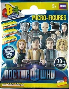 Doctor-Who-Micro-Figure-Blind-Foil-Pack-Wave-2-one-figurine-only-per-pack-NEW