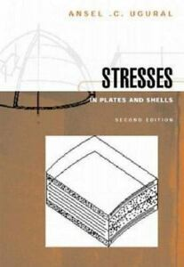 stresses in plates and shells by ansel c ugural 1998 hardcover rh ebay com