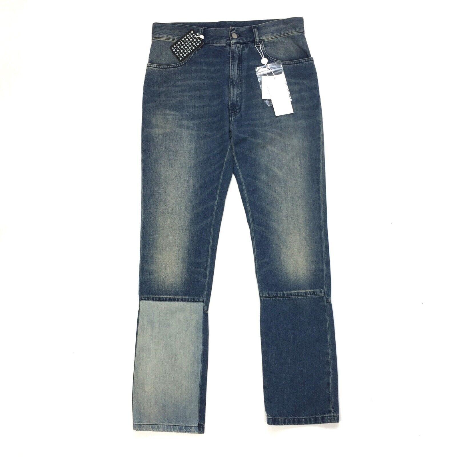 NWT  Maison Margiela Men's Artisanal Patchwork Vintage Denim Jeans AUTHENTIC