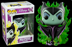 Exclusive-Maleficent-with-Flames-FUNKO-POP-Vinyl-New-in-Box