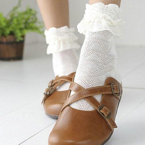 Frauen Socken Rüschen Rüschen Prinzessin Kurze Spitze Rüschen Rüschen Knöchel