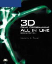 3D Game Programming All in One, Finney, Kenneth C, Good Condition, Book