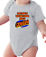 Infant Creeper Bodysuit T-shirt Don/'t Blame Smell Coming Grandpa Color