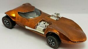 TWINMILL-Orange-w-White-Interior-1969-US-Vintage-Original-Hot-Wheels-REDLINE