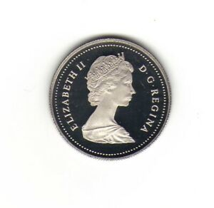 Frosted-1987-Canada-50-Fifty-cent-Coin-Canada-Half-Dollar-Queen-Elizabeth