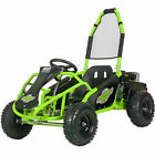 MotoTec Mud Monster 98cc Go Kart Full Suspension - Green