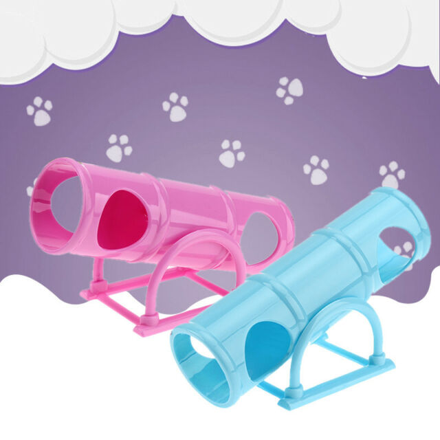 Pet Supplies Hamster Exercise Toy Seesaw Sports Plastic Cage House Tunnel Tube~