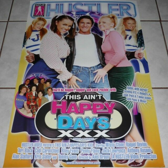 This Ain T Happy Days Xxx Adult Dvd Hustler Parody Tori Black Buy5get1free For Sale Online Ebay