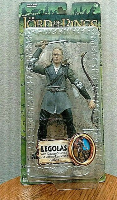 Lord of the Rings ~ Fellowship of the Ring ~ Legolas w//dagger arrow launch ~ MOC