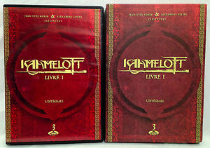 Details About Kahmelott Livre 1 Tome 1 2 3 Disc Dvd Set 2005 Widescreen In French