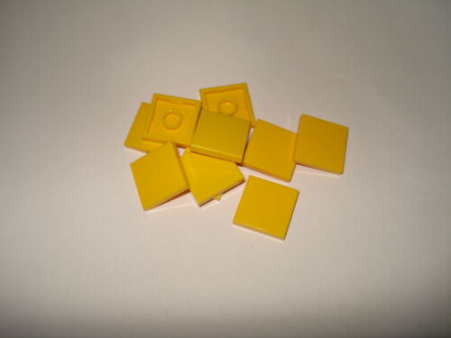 Multiple Variations Lego x10 Smooth Flat Tiles 2x2 Studs Part Nr 3068